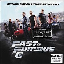FAST & FURIOUS 6 SOUNDTRACK CD ~ DEADMAU5~CRYSTAL METHOD~LUDACRIS~DELUXE + *NEW*