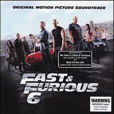 FAST & FURIOUS 6 SOUNDTRACK CD ~ DEADMAU5~CRYSTAL METHOD~LUDACRIS~DELUXE + *NEW*