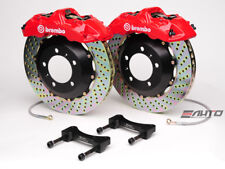 Brembo Front GT Brake 6Pot Caliper Red 355x32 Drill Disc Benz W203 W209 R171