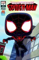 MARVEL COMICS MILES MORALES SPIDER-MAN #11 FUNKO PREVIEWS EXCLUSIVE VARIANT