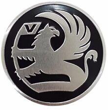 Vauxhall 68 mm Diamètre noir Badge Logo Decal Bonnet Boot Cercle Astra Nova VB68