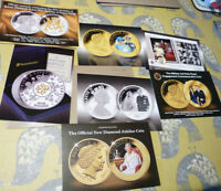 7 publicity cards for Royal Family coins & covers (20.2.34)