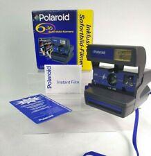 Polaroid Kamera 636 Original Karton Alte Vintage Foto Camera Sofort Bild CloseUP