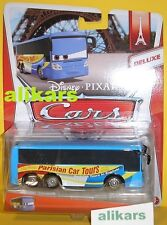 MB - EMMANUEL BUS - Deluxe Disney Cars voiture modellino Parisian Car Tours new