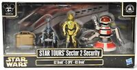 HASBRO Star Wars Star Tours Sector 2 Security G2 RX Action Figure Set NIB e148