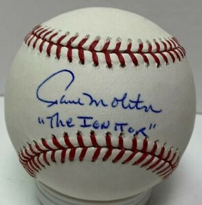 """Brewers PAUL MOLITOR Signed Official MLB Baseball AUTO  w/ """"Ignitor"""" - JSA"""