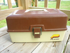 Vintage Plano 2 Tier Fishing Tackle Box