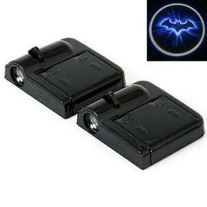 Wireless Car Door Logo LED Projector light Welcome Laser Batman Shadow Lamp 1 PC