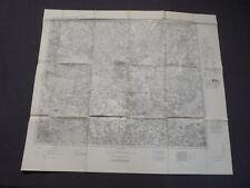 Landkarte Großblatt 77 Zossen, Beeskow, Lübben (Spreewald), 1940
