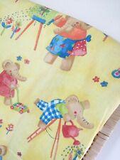 Vintage Cortinas. para Dormitorio de Niños Vivero. elefantes. apagón amarillo.