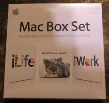 *NEW* Mac Box Set Family Pack - OS X Snow Leopard/iWork 09/iLife 09 - MC582Z/A