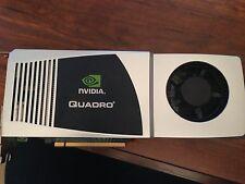 Nvidia Quadro FX 5800 4GB GDDR3 Dual DVI DP PCIe x16 Graphics Card