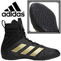 Adidas Speedex 18 Men's Boxing Boots Black Retro Urban Trainers