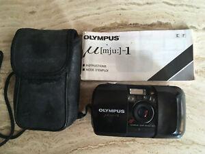 Olympus mju 1 Film Cameras 35mm  working