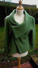 Kaliko green boiled wool jacket  size 12