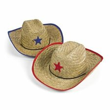 Kids Cowboy Hat W/Star Childrens Western Dress Up Cap (WHOLESALE LOT OF 20X)