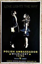 Polish Ambassador 2018 Gig Poster Portland Oregon Concert David Sugalski
