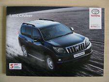 Toyota Land Cruiser UK Sales Brochure  (2012)