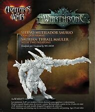 Avatars of War: Saurian Thrall Mauler with two weap - AOW77 - Character