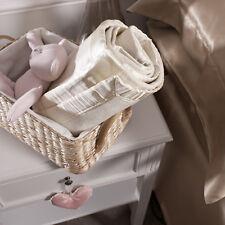 Jasmine Silk Ivory Silk Baby Blanket