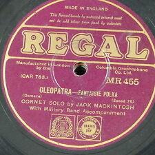 78rpm JACK MACKINTOSH cleopatra / showes of gold , cornet solo