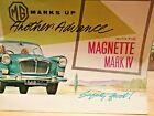 MG Magnette Mk.IV. 1960 Sales Brochure.