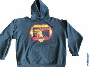 Thrash Of The Titans 2001 XL Hoodie Heathen Exodus MOD Anthrax RARE Vintage