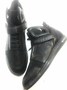 Y-3 Yohji Yamamoto Adidas Leather Sneakers Garde High New US Sz 10.5 D