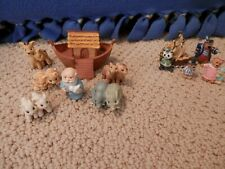 "Hallmark Merry Miniatures - ""Noah & Friends"" and ""Peter Pan"""