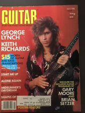 Guitar For The Practicing Musician. July 1986. Featuring George Lynch.