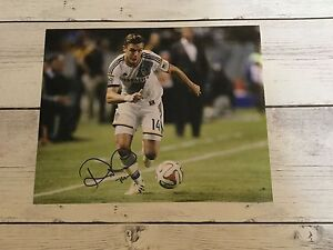 Robbie Rogers Signed LA Los Angeles Galaxy 8x10 Photo Autographed b