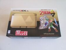 BRAND NEW SEALED - Zelda Link Between Worlds Limited Ed. Nintendo 3DS XL Console