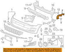 VW VOLKSWAGEN OEM 15-17 Golf Front Bumper-Guide Right 5GM807050