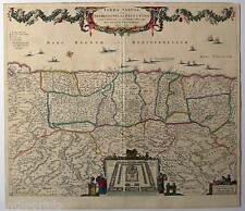 Terra Sancta-Palestina-Holy Land-Israel - Karte-Map Visscher 1659