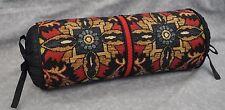 Ralph Lauren Poet Society Blue Tapestry Fabric Custom made Pillow-Neck Roll