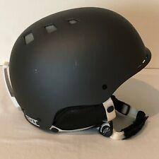 Smith Holt Snowboard Helmet Adult XS Matte Black Snow Gear