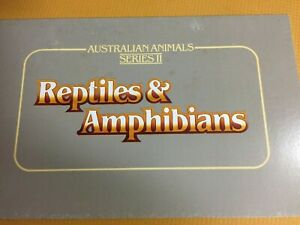 Australian Stamps. REPTILES & AMPHIBIANS. 1983  P.O Pack . NICE PACK. Reduced
