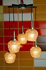 Vintage Ceiling Light Kaskadenlampe Glass Lamp Ceiling Light Light Pendulum 70er