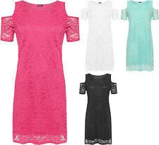 Nylon Party Short Sleeve Floral Dresses for Women