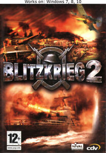 Blitzkrieg 2 Anthology PC Game Windows 7 8 10 Fall of the Reich Liberation