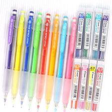 8 colour set Pilot 0.7 colour eno mechanical pencil + 8 tubes pencil lead