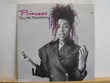 """★★ 12"""" MAXI-PRINCESS-Tell Me Tomorrow/Say I 'm Your Number One (demo) 1986"""