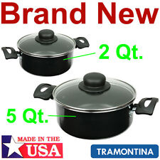 NEW TRAMONTINA 2 and 5 Qt. QUART DUTCH OVENS,ALUMINUM POT/COOKER STOVE COOKWARE