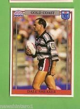 1993 RUGBY LEAGUE CARD #135  DALE SHEARER, GOLD COAST SEAGULLS