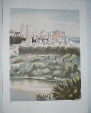 Lithographie Originale de ZAROU .