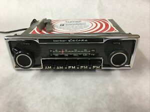 5 Button Classic Becker Europa Mono Car Radio for Mercedes Porsche Restored