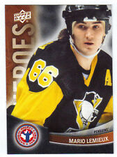 11-12 Upper Deck UD Mario Lemieux Heroes #13 NHCD National Hockey Card Day