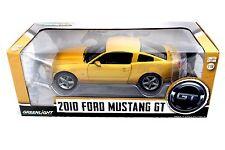 Greenlight 2010 Ford Mustang GT Gold Metallic 1/18 Diecast car