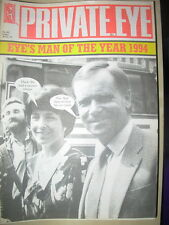 PRIVATE EYE MAGAZINE No 862 DECEMBER 30 1994  MAN OF THE YEAR JEFFREY ARCHER