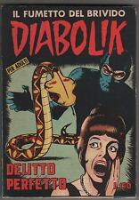 DIABOLIK prima serie N.18  DELITTO PERFETTO originale 1964 1a I